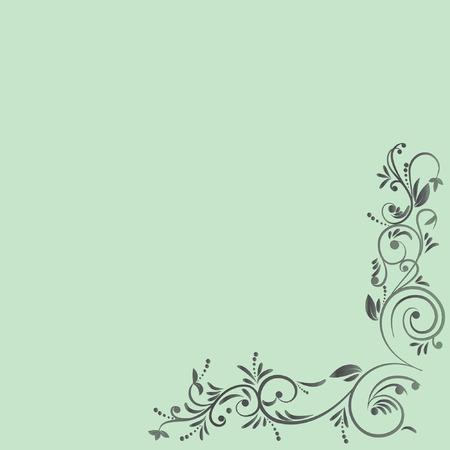 Floral design. Stock Vector - 7204804