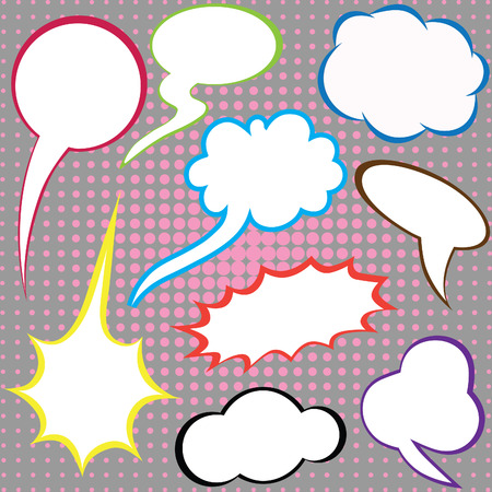 Dialog clouds Stock Vector - 7630579
