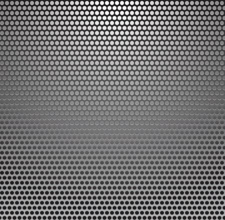 Vector Metal Grill Seamless Pattern. Metallic background. Illustration