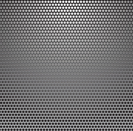 Vector Metal Grill Seamless Pattern. Metallic background. Vector
