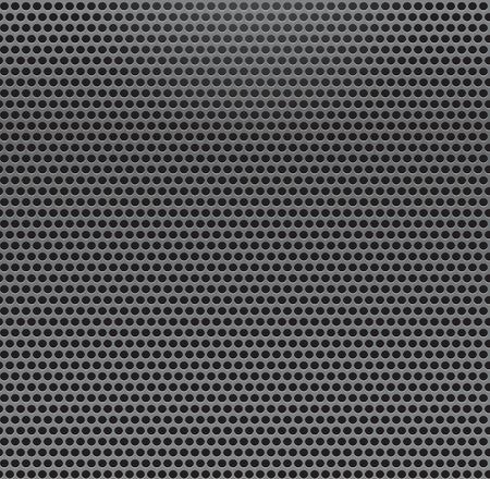 Metal Grill Seamless Pattern. Metallic background. Vektoros illusztráció