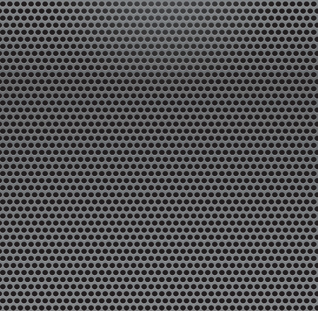 air hole: Metal Grill Seamless Pattern. Metallic background. Illustration