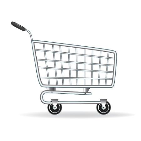 icon shopping cart: Shopping Cart-Symbol. Vektor-Illustration. Element f�r Design.