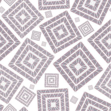 Abstract background seamless pattern quadrato per carta da parati. Ornamento di consistenza in ceramica.