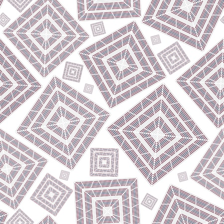 stoneware: Abstract seamless square pattern background for wallpaper. Ceramic texture ornament. Illustration
