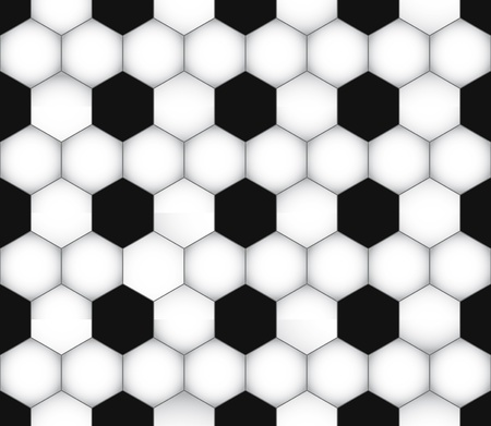 seamless soccer texture. Football wallpaper. Sport background. Stock Vector - 9560785