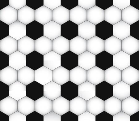 paper ball: seamless soccer texture. Football wallpaper. Sport background.