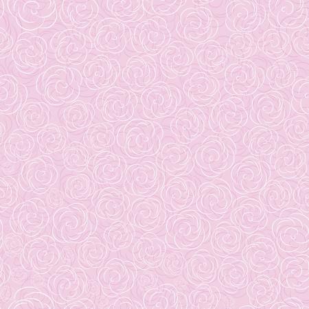 Pink vector rose seamless flower background pattern, floral vintage illustration. Cute backdrop. Vector