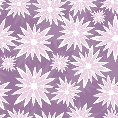 seamless flower background pattern, floral vintage illustration. Cute backdrop. Stock Vector - 9902182