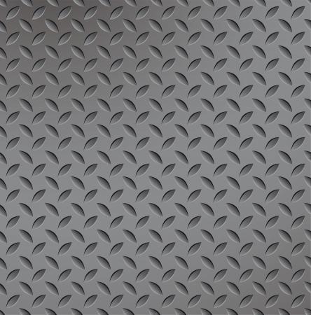 Abstract metal texture seamless. Titanium pattern. Metallic illustration. Stock Vector - 10014588