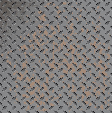 titanium: Abstract metal texture seamless. Titanium pattern. Metallic rusty illustration. Illustration