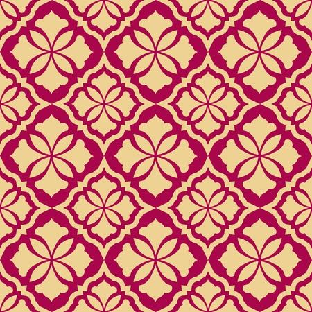 arabesque wallpaper: Retr� sfondo senza soluzione di continuit�. Vintage zebrato. Illustrazione reale consistenza. Stile barocco pattern.