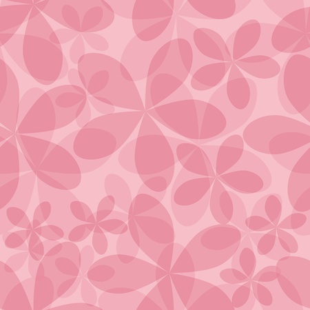 Flower art pattern. Seamless pink background pattern. Fabric texture. Floral vintage design. Pretty cute tile wallpaper.  Vector