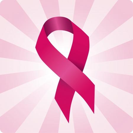 Breast cancer  ribbon  social  illustration. Woman solidarity. Stock Vector - 11004506