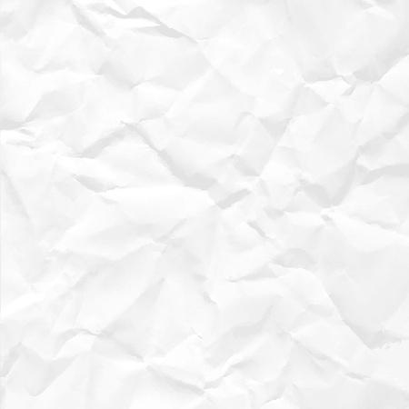 feuille froiss�e: Papier froiss� seamless texture vecteur bureau.