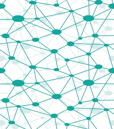 генетика: Нейронной сети, вектор значок веб-сайтов. Схема сети, сети системы. Бесшовные фон. Иллюстрация
