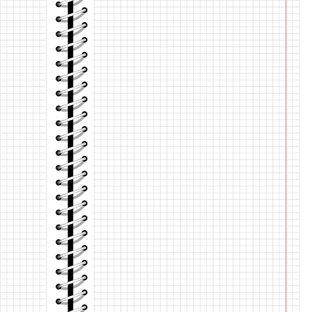 cuaderno espiral: El sitio web de negocios perfecta de fondo con espiral de metal, el patr�n de dise�o de port�tiles