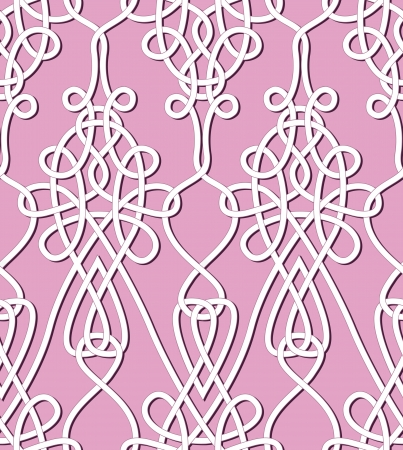 arabesque wallpaper: Retro seamless background  Vintage keltik Irish wallpaper  Texture vector illustration  Pattern celtic style