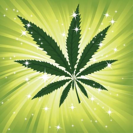 녹색 대마 꽃 영감 배경, 대마초 잎 공간 배경 질감 마리화나 그림을 나뭇잎