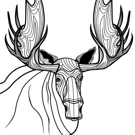 Elk Illustrations amp Vectors  Dreamstime