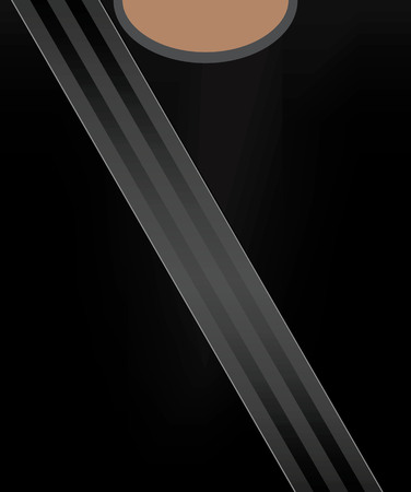 cinturon seguridad: Safety belt concept vector illustration