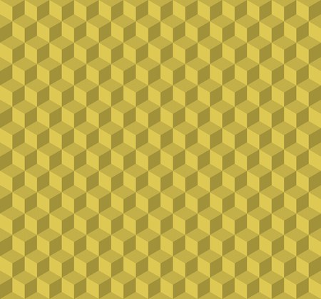 concave: 3d cubes seamless background, illustration modern style design. Embossed cuboids abstract pattern.