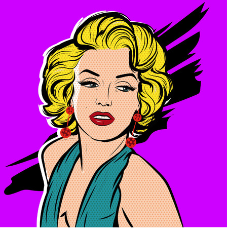 celebrities: pop art portrait