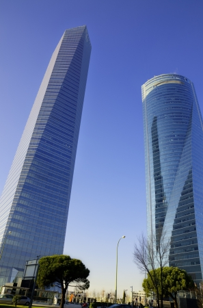 Madrid city  Skyscrapers  Spain