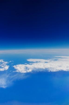 an atmosphere: Atm�sfera de la Tierra vista