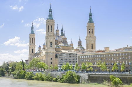 Basilica of our Laidy of the Pillar at Zaragoza, Spain