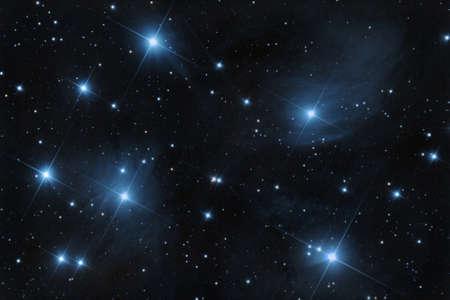 M45 pleiades open cluster photo
