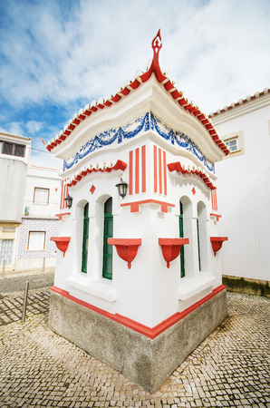 Picturesque small kiosk in Lagos, Algarve, Portugal. photo