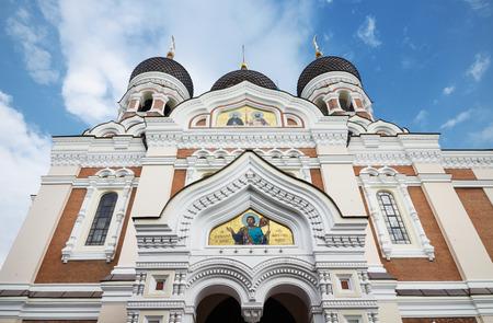 tallin: Alexander nevsky cathedral in the medieval city of Tallinn, Estonia.