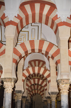 CORDOBA, SPAIN - MAY 3: Famous Cordoba mosque on May 3, 2014 in Cordoba, Andalusia, Spain.