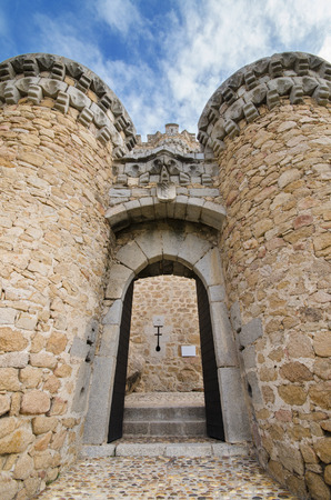 Manzanares el Real castle Stock Photo