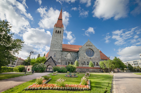 Tampere cathedral, Finland.