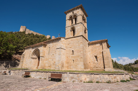 Hermitage in Cervera de Pisuerga, Spain.