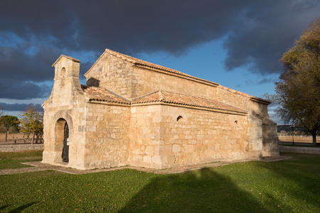 St. Juan church is the oldest spanish church dated from seventh century, Palencia, Spain.