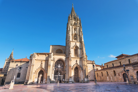 Oviedo cathedral, Asturias, Spain.