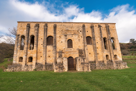 Pre-romanesque church of Santa Maria del Naranco, Oviedo, Asturias, Spain