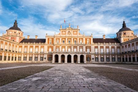Palacio Real de Aranjuez, Madrid, España.