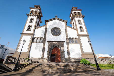 Church of our lady of Candelaria in Moya, Grand Canary, Spain.