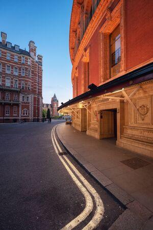 The Royal Albert Hall in London, United Kingdom.