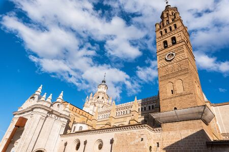 Cathedral In The Historic City Of Tarazona, Aragon region, Spain.