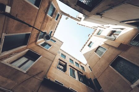 Building abstract background . Residential building . Stok Fotoğraf