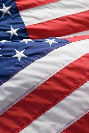 Close up of us-american flag