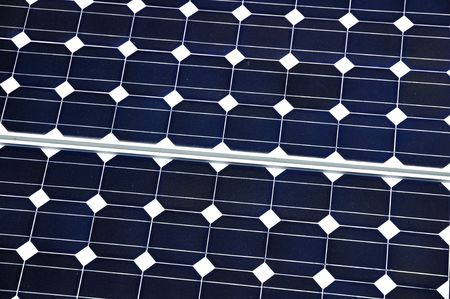 Solar Panel Close-up showing pattern and details Stock Photo - 5458437