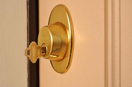 deadbolt: Dead Bolt (Deadbolt) Lock with a Key