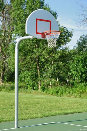 Outdoor Basketball Hoop photo