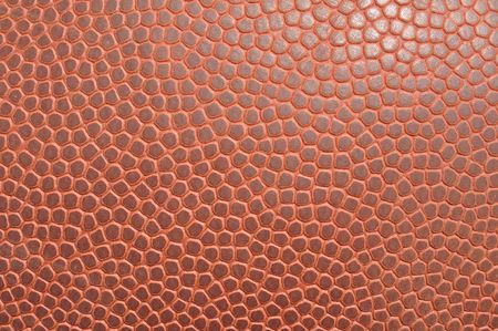 Close-up of an American Football Showing Texture for a Background